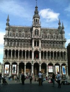 Grand Place, Bruxelles, avril 2014